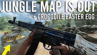 Battlefield 5 Jungle Map gameplay + Crocodile Easter Egg