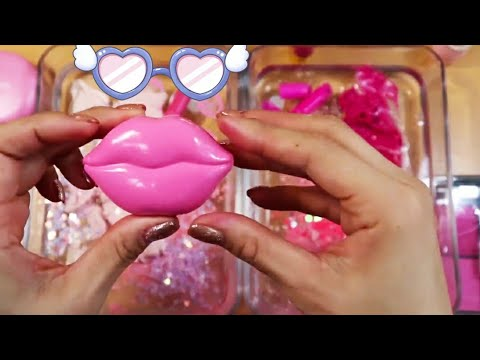 Slime Coloring with Makeup - Mixing Pink vs Hot Pink