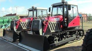 Новый гусеничный трактор YTO C1302   аналог ДТ 75. Обзор 2017