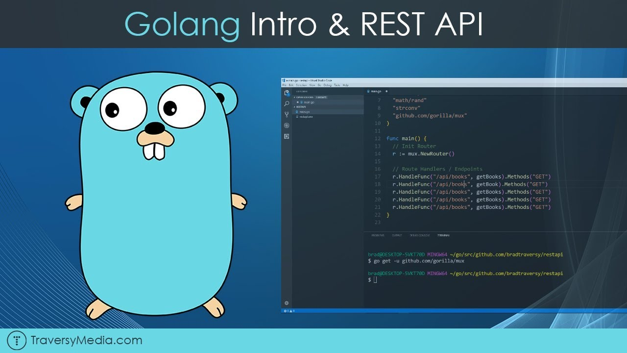 Golang REST API With Mux