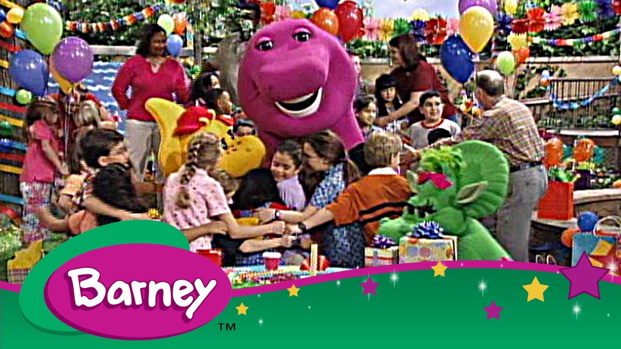 Barney Full Episode Compilation The Magic Words Wind And The