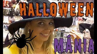 Shopping at Walmart - Halloween is coming!