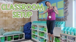Classroom Setup DAY 2 - Teacher Vlog