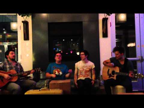 WALK THE MOON - I Can Lift a Car (acoustic) @ Aloft Hotel Jacksonville 12/10/12