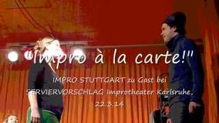 "Impro Stuttgart bei ""Impro a la carte!""  - Song"