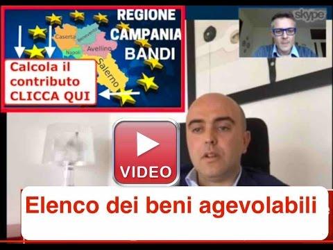 Finanziamenti a fondo perduto Regione Campania Bando aperto Contributi Regione
