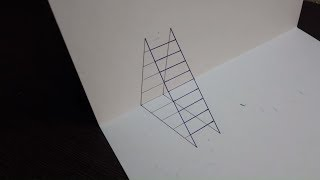 3D stairs Лестница