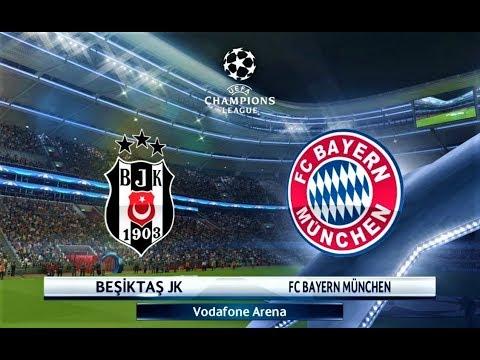 Besiktas vs Bayern Munchen | J. Rodriguez Free Kick Goal | UEFA Champions League 2018 | PES 2018 HD