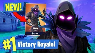 NEW UPDATE!! *LEGENDARY RAVEN SKIN* // 13,500+ KILLS // 723+ WINS (Fortnite Battle Royale)