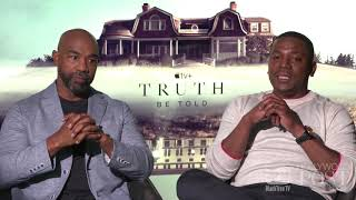 "tv+ Michael Beach and Mekki Phifer on ""Apple hook ups"" in TRUTH BE TOLD"