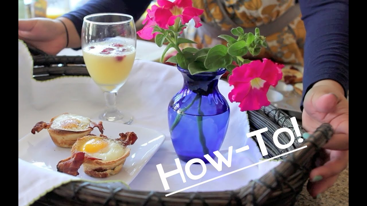 How to easy breakfast in bed youtube