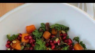 Kale For Salad - Raw Kale Salad Recipe - Best Kale Salad Ever