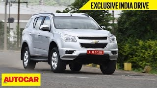Chevrolet Trailblazer | Exclusive India Drive | Autocar India