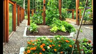 Vegetable Home Garden Landscaping Fence Ideas