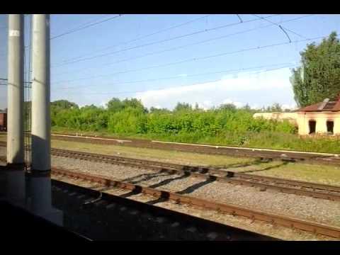 Отъезд из Серпухова на ЭД2Т | Departure From Serpukhov By ED2T