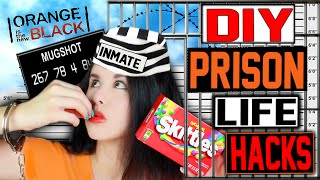 14 DIY PRISON Life Hacks! | Use In Your Daily Life! | Jail House Hacks That REALLY Work!