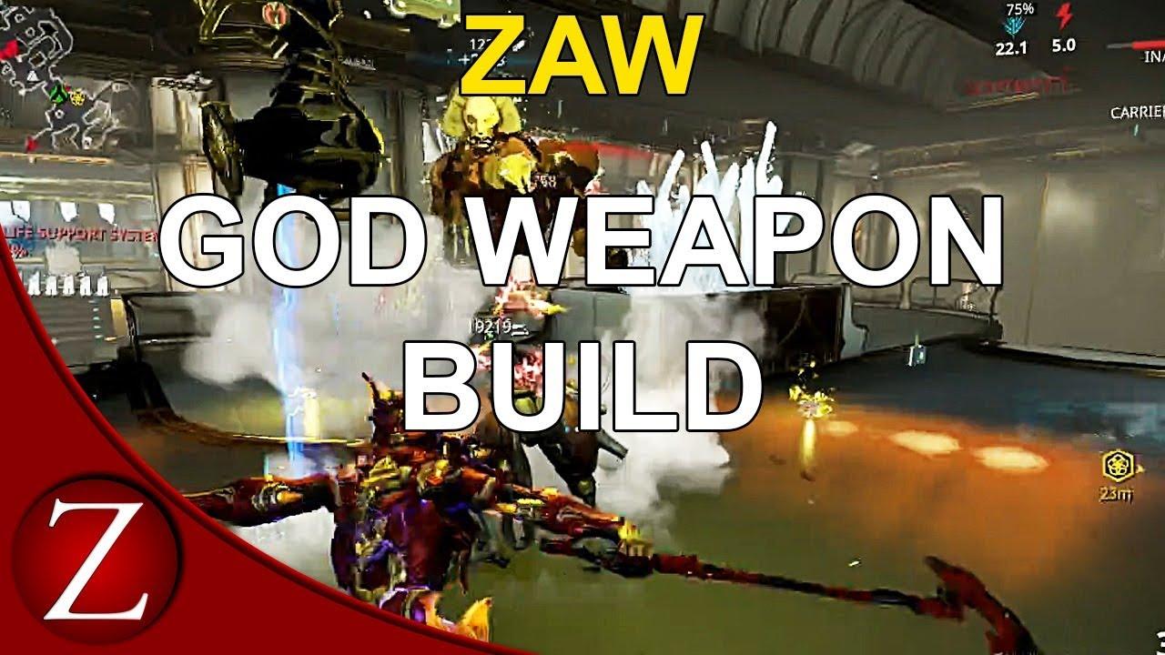 Plague Zaw Build - Warframe Gameplay - YouTube