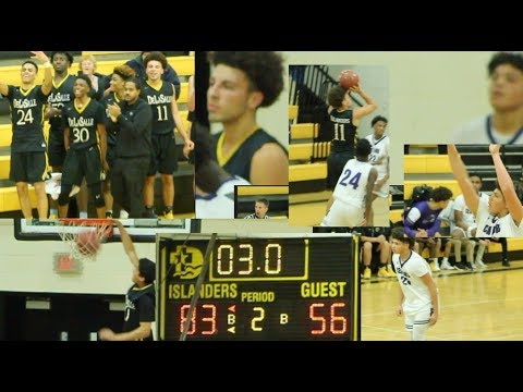 Delasalle beats brooklyn center  with a battle performance