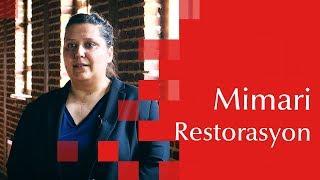 mimari restorasyon faruk saraç tmyo tercih günleri 2018