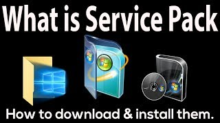 What is Service Pack in Windows | How to get Windows patches and Service Pack | Windows Update