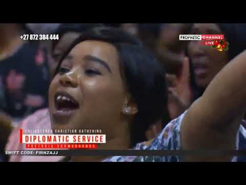 DeAllen 'Be Glorified' Ecg Church Pretoria Show Grounds   10/12/2018