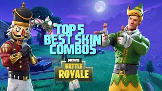 MY TOP 5 FAVOURITE SKIN COMBOS IN FORTNITE (CRACKSHOT, CODE NAME ELF)