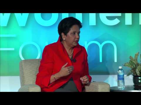 2015 Global Women's Forum - Part 6 featuring PepsiCo CEO Ind