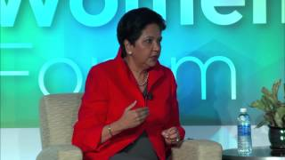 2015 Global Women's Forum - Part 6 featuring PepsiCo CEO Indra Nooyi