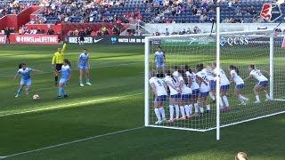 Highlights: Rose Lavelle, Christen Press score as the Breakers and Red Stars tie 1-1