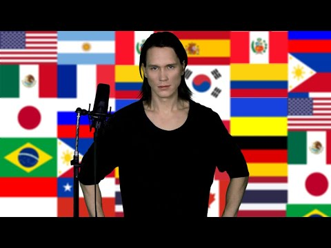 Singing 20 National Anthems (Metal Medley)