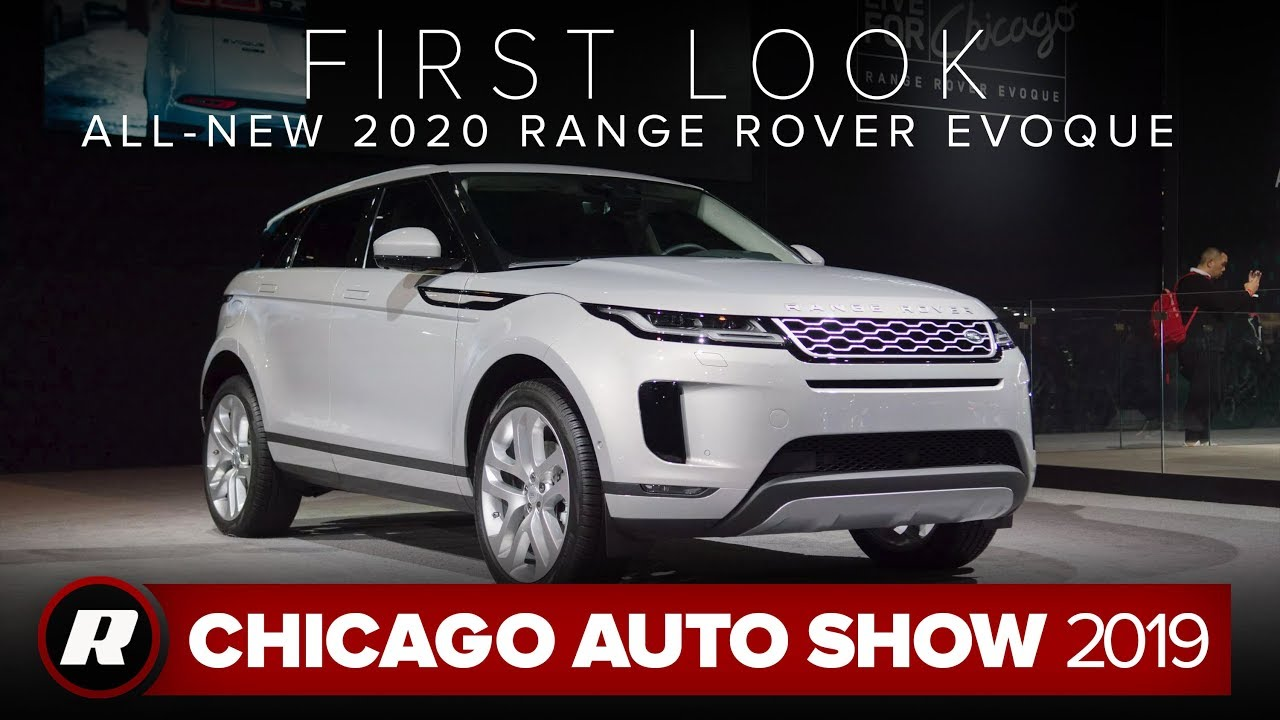 Redesigned 2020 Range Rover Evoque is now available as a mild hybrid | Chicago 2019