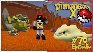 Minecraft DIMENSÃO X #70 - FINALMENTE RHYPERIOR E STEELIX SHINY COM KAZZIO [Pixelmon]