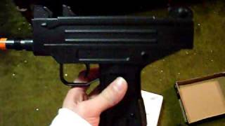 J & Z Review on the Well D-93 or D93 Uzi Airsoft gun
