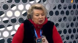 Татьяна Тарасова о Олимпийской Чемпионке Сочи Аделине Сотниковой