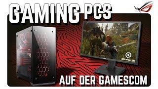 Gaming-PCs auf der Gamescom 2017
