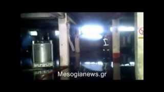 Φωτιά σε εργοστάσιο χρωμάτων στο Κορωπί