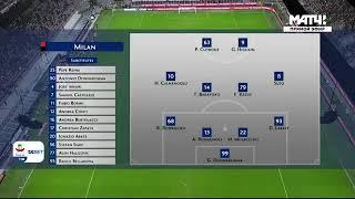מילאן נגד גנואה 1-2