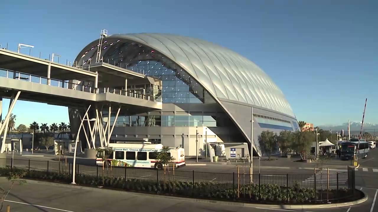 Anaheim Celebrates Opening Of Artic Transportation Hub Youtube