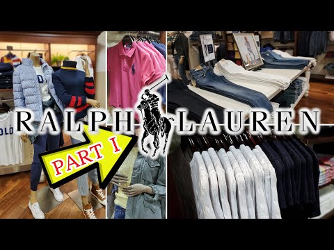 POLO RALPH LAUREN OUTLET VLOG - PART 1 // Enjoy 20% Off Your Purchase Or 25% Off $125 Or More!