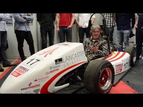 James May: Why study engineering at Lancaster?