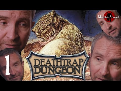 Deathtrap Dungeon - The Interactive Video Adventure #1