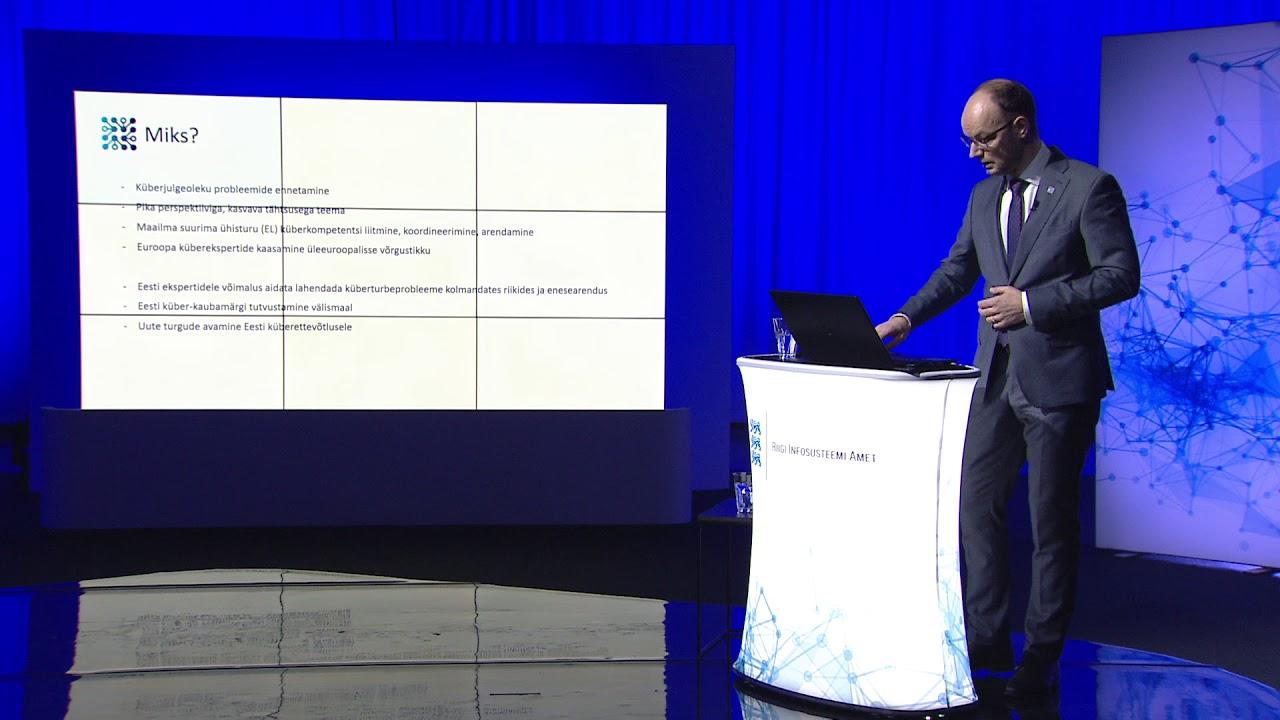 RIA infopäev 2020 - Mis on EU CyberNet, Siim Alatalu