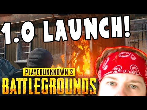 ? PUBG LIVE STREAM | NEW UPDATE - 1.0 LAUNCH | PlayerUnknown's Battlegrounds XBOX ONE X Live Stream thumbnail