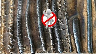 How NOT to Stick Weld