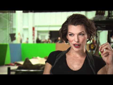 Interview Milla Jovovich über ihren Spass bei den Stunts RESIDENT EVIL: AFTERLIFE 3D