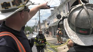 Firefighters quickly douse fire in bedroom