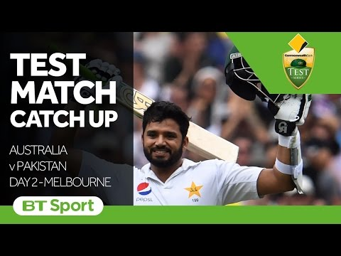 Australia vs Pakistan  Second Test Day Two Highlights   Test Match Catch Up New Flash Game