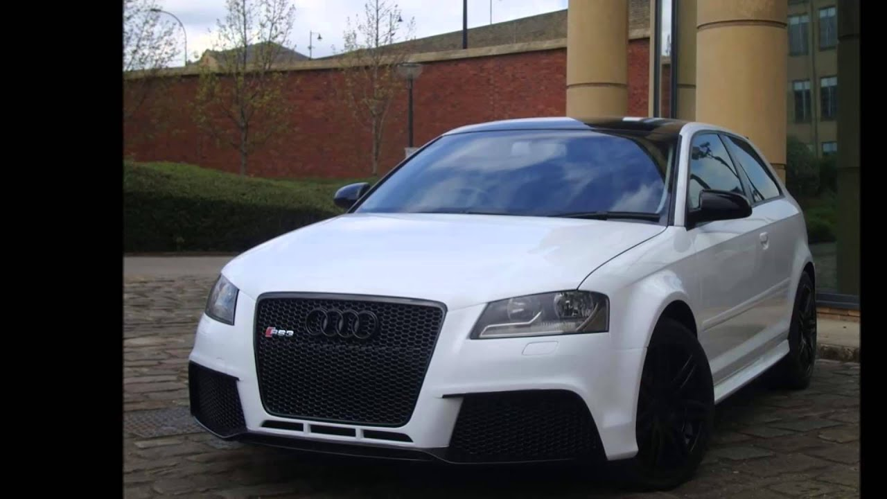 Xclusive Customz - Audi RS3 Conversion - YouTube