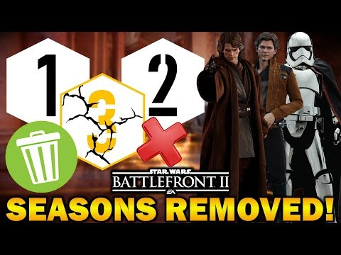 SEASONS REMOVED BY EA! Star Wars Battlefront 2