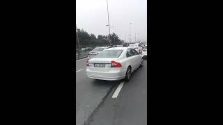 15 temmuz şehitler köprüsü trafik kazası.